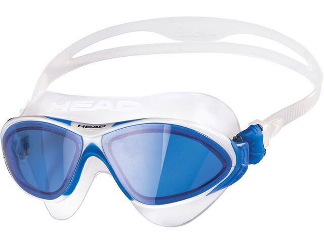 Head Horizon Máscara, clear/white/blue/blue